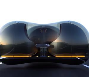 Este vehículo flotante podría ser el automóvil del futuro