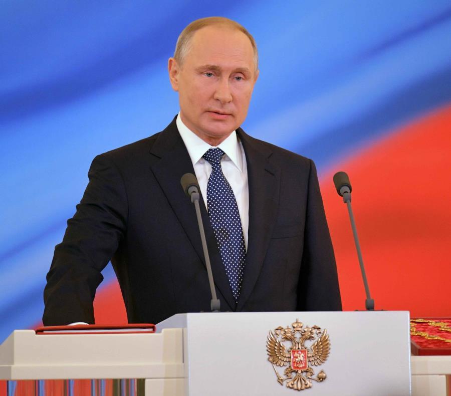 El presidente de Rusia, Vladimir Putin (semisquare-x3)