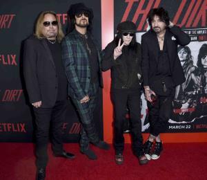 Sin censura la historia de Mötley Crüe