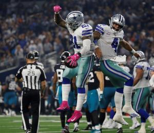 A escena otro clásico entre los Redskins y los Cowboys en la NFL