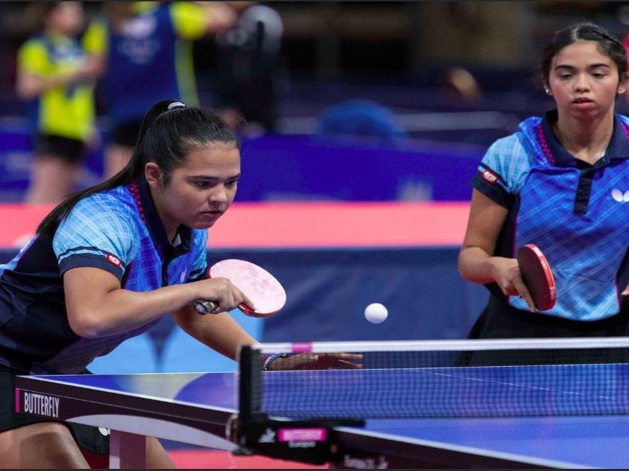 Las deportistas también estarán activas en el torneo de dobles. (GFR Media) (semisquare-x3)