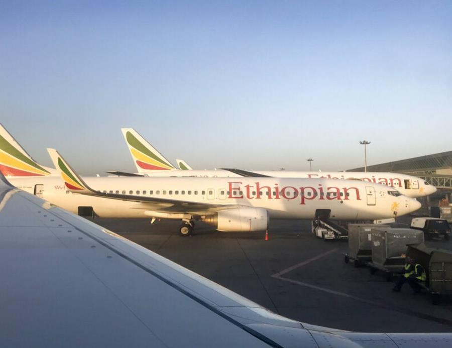 Aviones Boeing 737 de  Ethiopian Airlines (semisquare-x3)