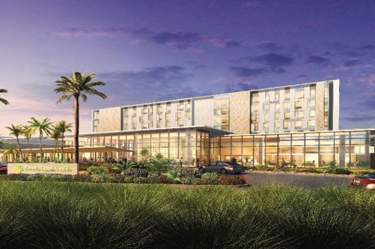 El Dorado Beach Health contará con 104 camas cuando abra en 2021, así como 20,000 pies cuadrados de clínicas multiespecialidad. (www.prisagroup.com) (semisquare-x3)