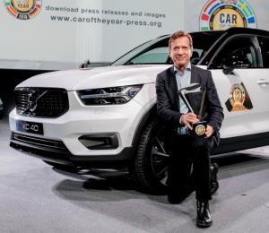Volvo XC40 es nombrado auto europeo del 2018