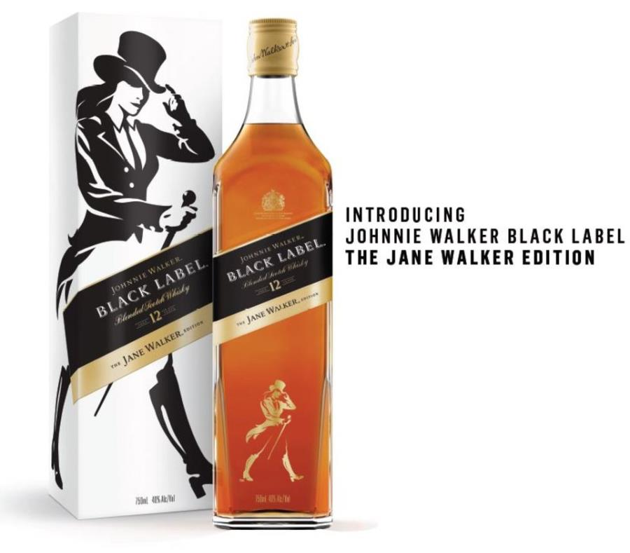 ¿Johnnie Walker? No, Jane Walker