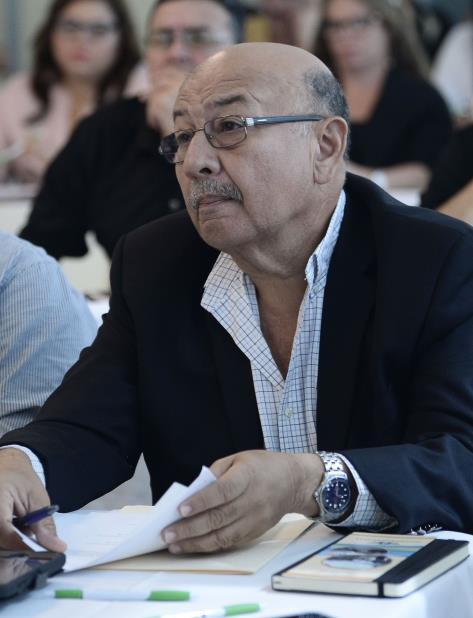 El ingeniero José A. Guzmán, presidente de la Asociación de Contratistas Energía Renovable (Aconer), durante una actividad de cooperativistas. (vertical-x1)