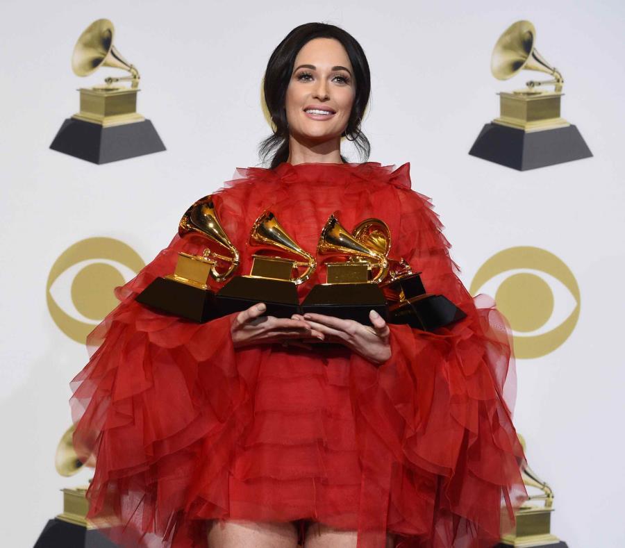 """Kacey Musgraves ganó álbum del año por """"Golden Hour"""". (AP) (semisquare-x3)"""
