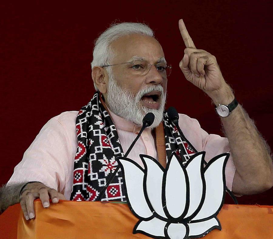 La prueba fue anunciada por el primer ministro indio, Narendra Modi, en un discurso a la nación. (AP) (semisquare-x3)