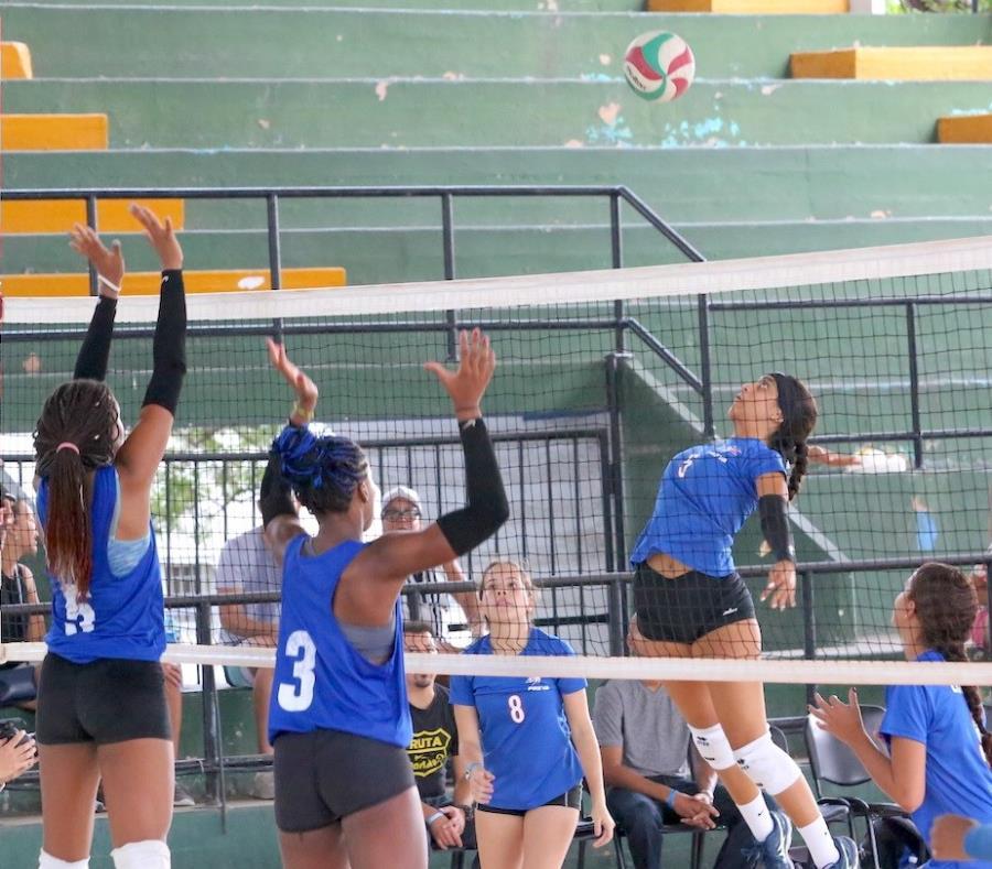 Los equipos femeninos juveniles Puerto Rico Elite Volleyball Academy, Prozone, Playeras de Manatí y NEVA estuvieron este fin de semana participando de la Copa Amistad de Voleibol en La Habana, Cuba. (Suministrada) (semisquare-x3)