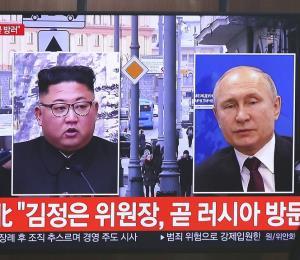 Rusia confirma que Putin y Kim Jong-un se reunirán el 25 de abril