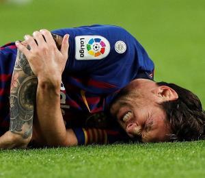Un médico explica la lesión que tuvo Messi