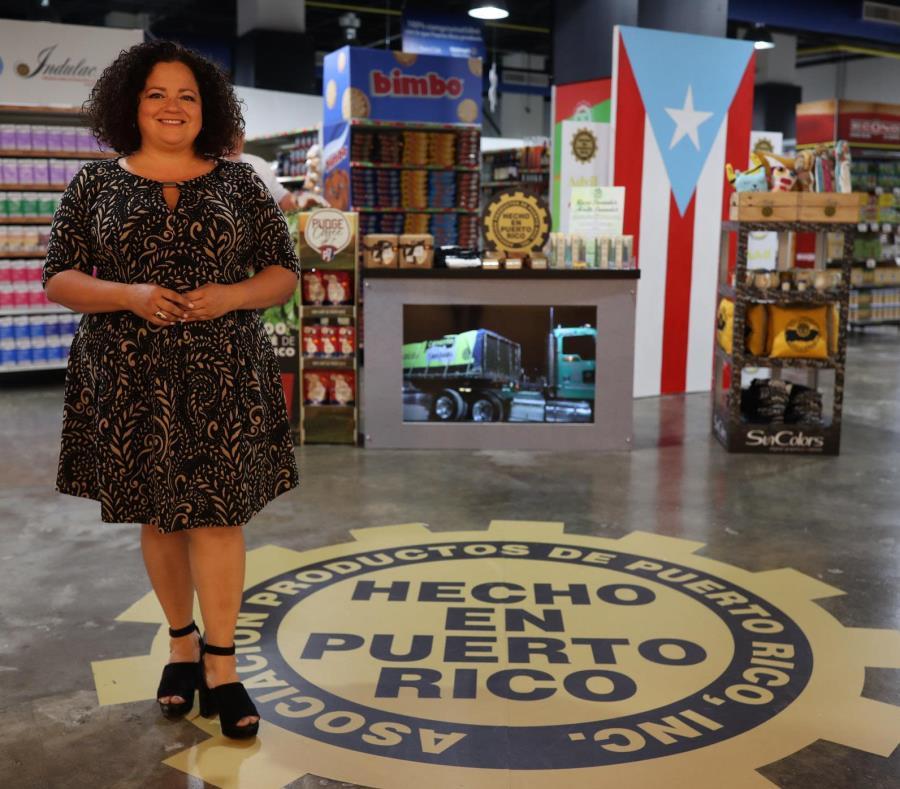 Liliana Cubano es la segunda mujer en presidir la Asociación Productos de Puerto Rico. (semisquare-x3)
