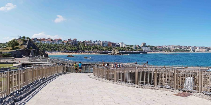 Dentro del recinto está el Parque Marino de la Magdalena, con pingüinos, leones marinos y focas. (Suministrada)