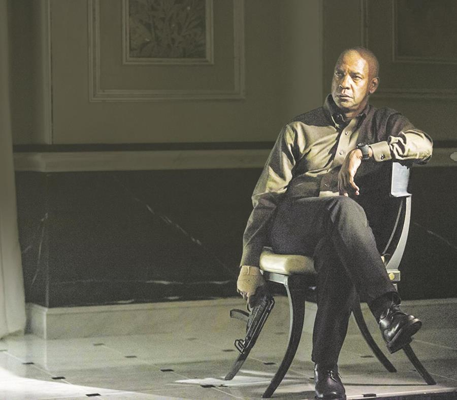 Como Robert McCall, Denzel Washington logra convencernos de que en esta ocasión no ha habido una transformación y que interpreta una variación de su personalidad. (Suministrada) (semisquare-x3)