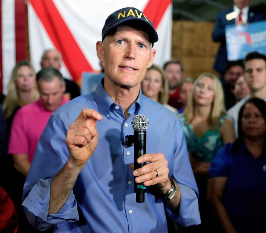 Rick Scott, gobernador del estado de Florida. (AP) (semisquare-x3)