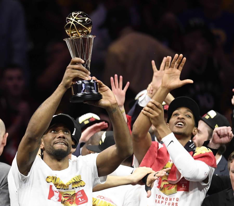 Raptors de Toronto se consagra campeón de la NBA