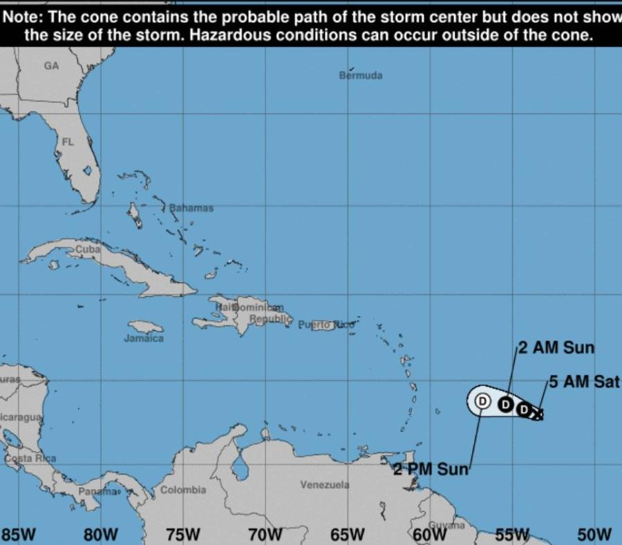 Tormenta tropical Kirk nace en el Atlántico y amenaza Puerto Rico