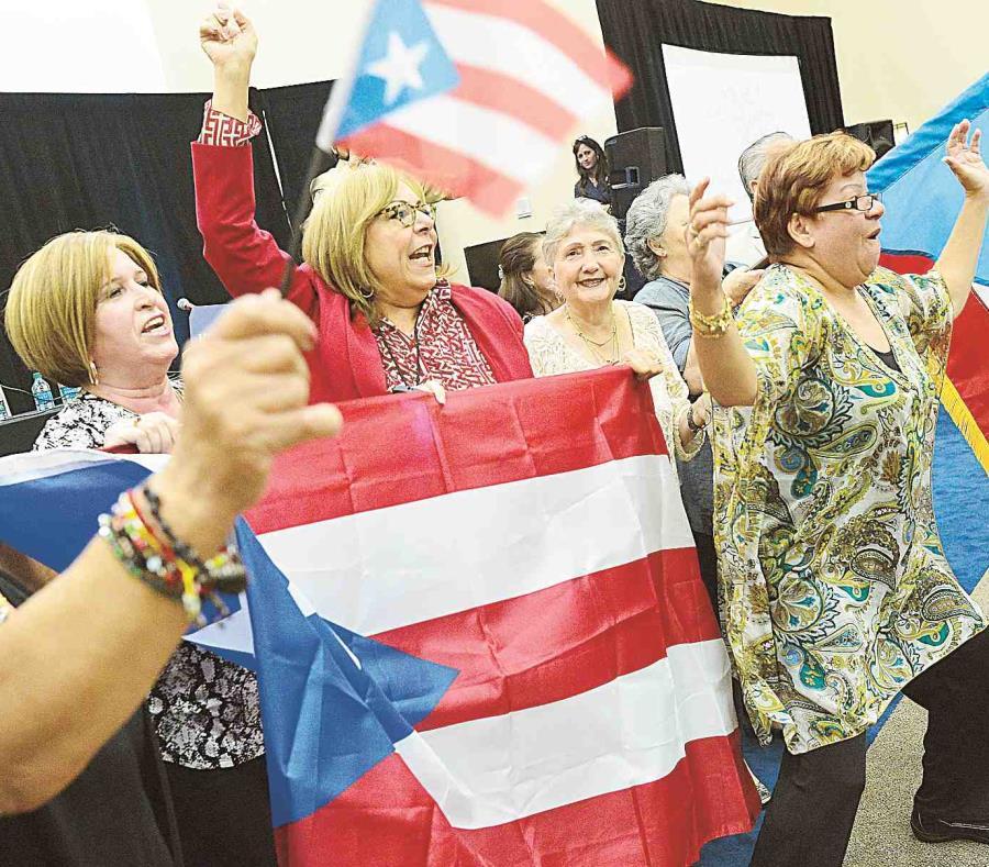 El crecimiento de 2.5% en el total de puertorriqueños en EE.UU. representó un incremento tres veces más rápido que la población en general. (semisquare-x3)