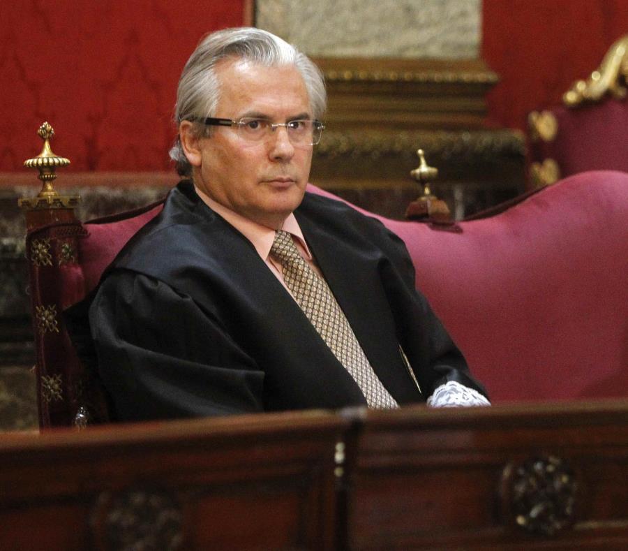 Baltasar Garzón ha sido internado bajo protocolo por coronavirus en Madrid