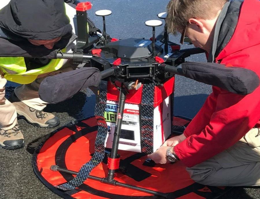 El dron realizó 14 pruebas con mucho éxito, la más larga de ellas fue de 3 millas de distancia. (semisquare-x3)