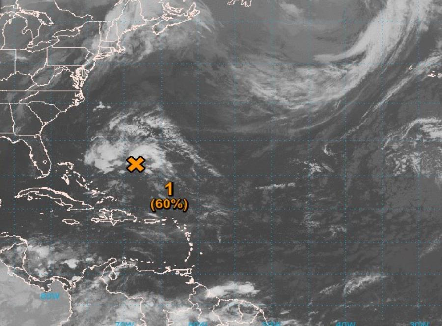 La primera tormenta de la temporada ciclónica de 2019 — Andrea