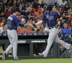 Los Astros pierden ante los Rays tras una racha de 12 triunfos