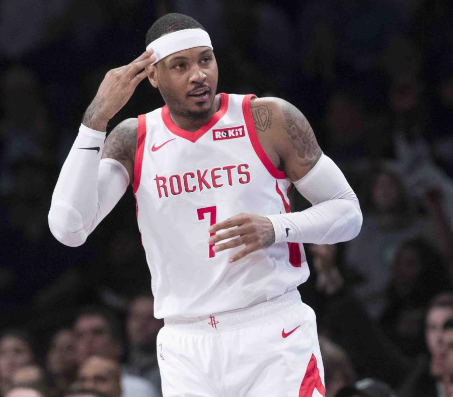 Houston Rockets envía a Carmelo Anthony a Chicago Bulls — Reporte