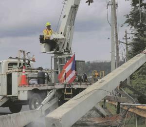 La telaraña energética en Puerto Rico