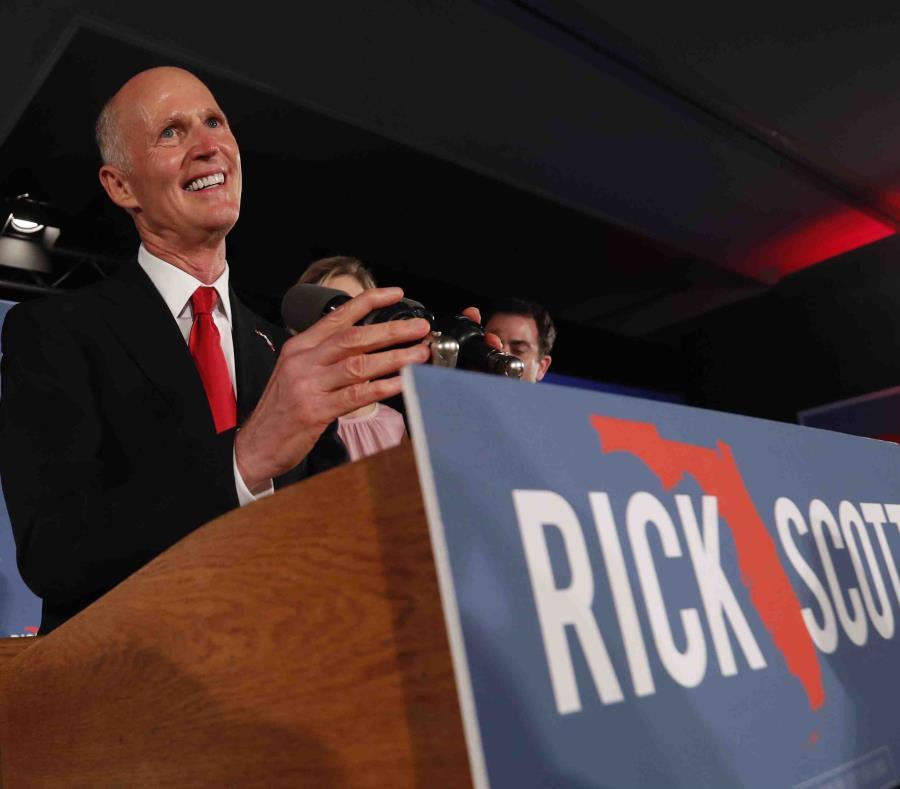 Rick Scott, gobernador de Florida. (GFR Media) (semisquare-x3)