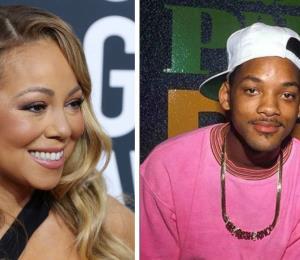 Will Smith le hace un conmovedor halago a Mariah Carey