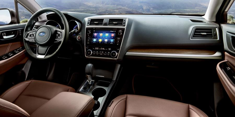 Cabina interior del Subaru Outback del 2019. (Suministrada)