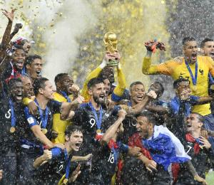 Francia encabeza la clasificación de la FIFA