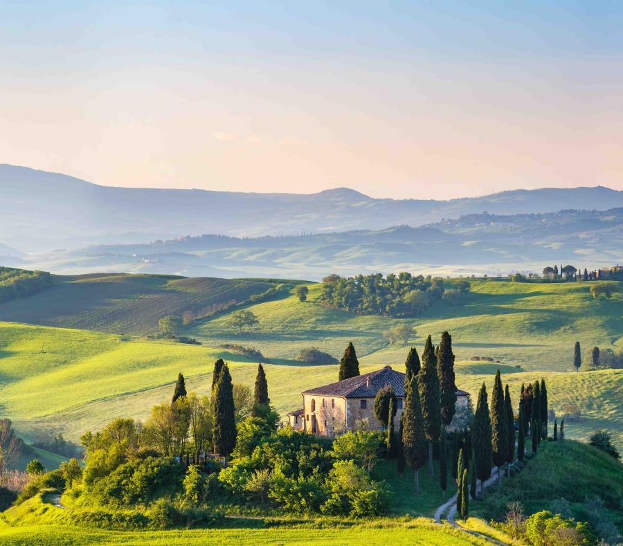 Imagen de La Toscana, en Italia, en primavera.  (shutterstock.com) (semisquare-x3)