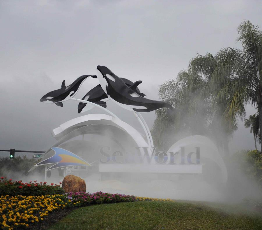 Vista del parque temático SeaWorld (Mundo Marino) de Orlando, Florida. (EFE) (semisquare-x3)