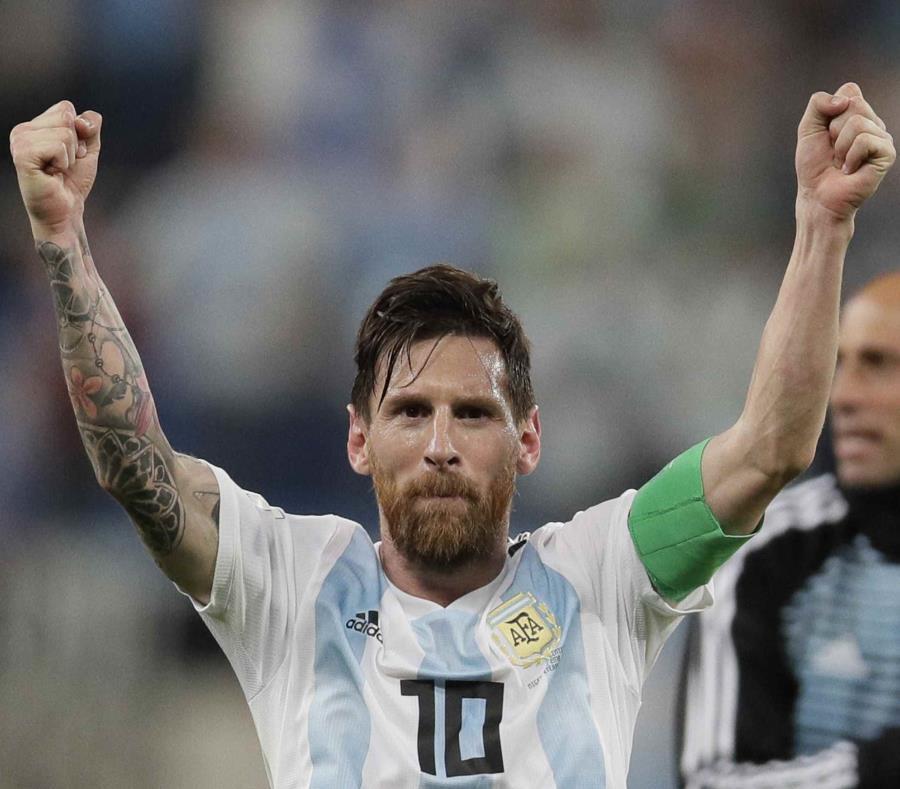 Lionel Messi, astro de Argentina. (AP) (semisquare-x3)