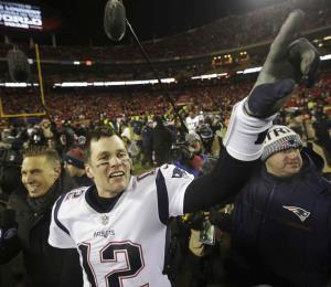 Patriots pasan a la final del Super Bowl