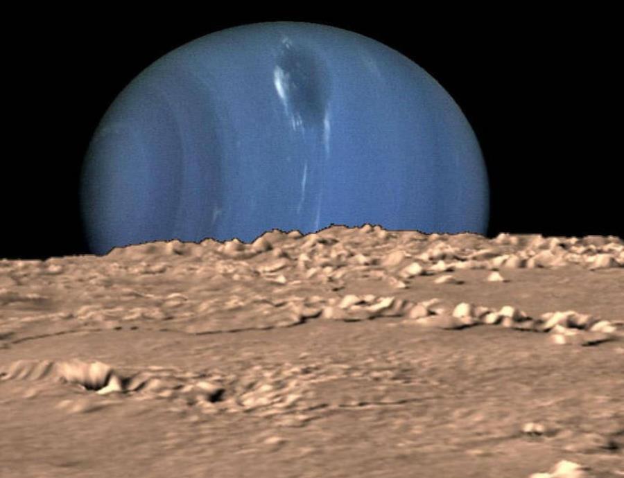 De llevarse a cabo la misión, la NASA comprobaría si sus cálculos pueden estar equivocados y que Tritón sea un lugar habitable.  (NASA) (semisquare-x3)
