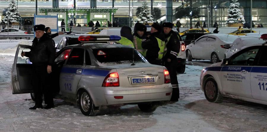 La policía de Rusia no hizo comentarios sobre el posible motivo del ataque. (EFE) (horizontal-x3)