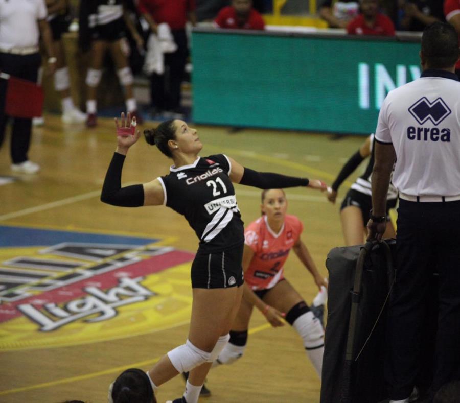 Las Criollas buscaban el lunes en la noche el campeonato de la LVSF, con ventaja de 3-2 sobre las Changas. (GFR Media) (semisquare-x3)