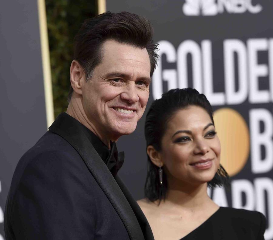Obligaron a Jim Carrey a cambiarse de mesa en los Golden Globe
