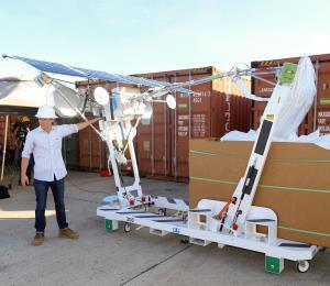 Demoran el lanzamiento de Project Loon en la isla
