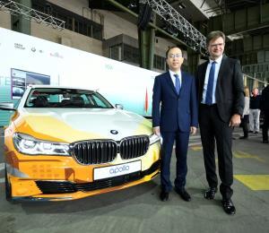 BMW Group y Baidu unen fuerza para acelerar el desarrollo de la conducción autónoma