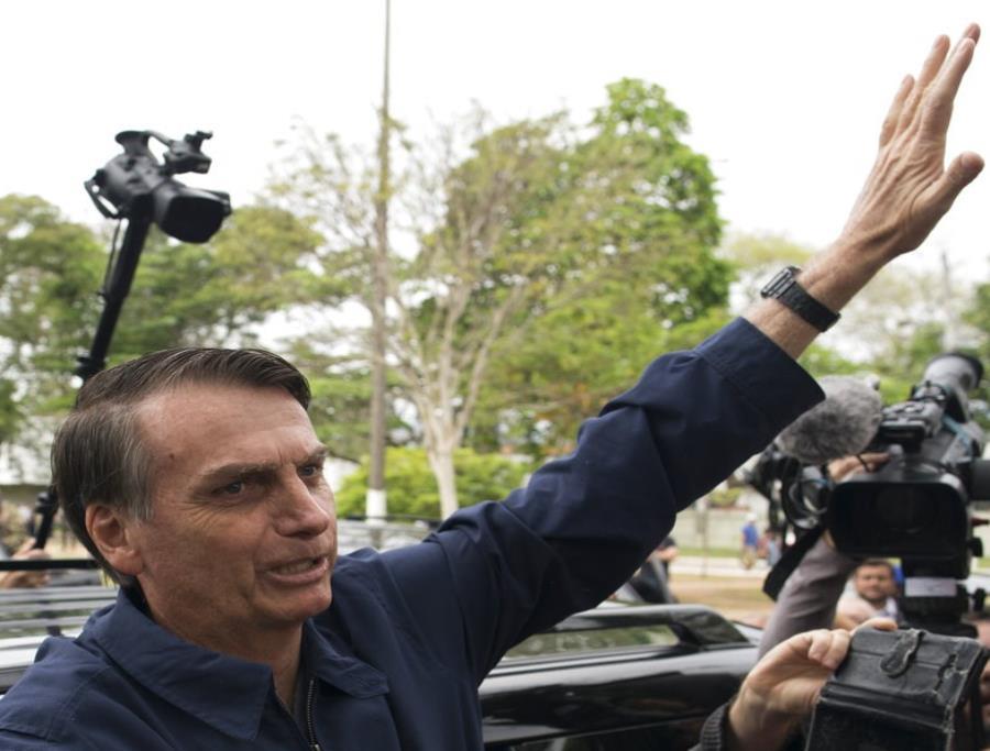 Una nueva encuesta le da a Jair Bolsonaro 18 puntos de ventaja sobre su rival del Partido de los Trabajadores, Fernando Haddad. (semisquare-x3)