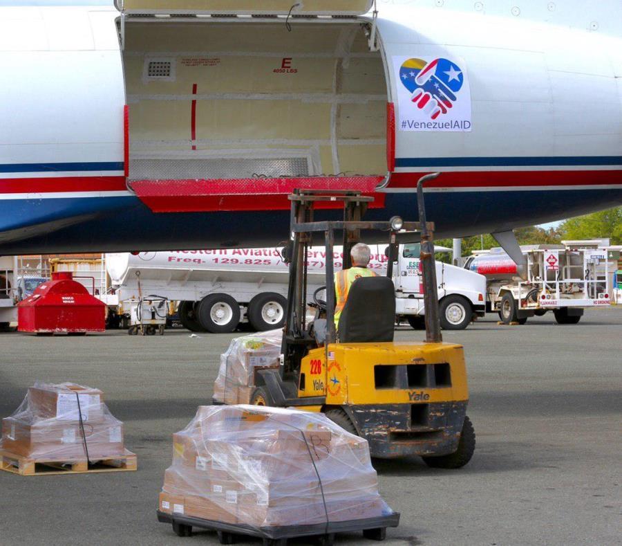 El avión partió el miércoles de la antigua base Ramey, en Aguadilla, cerca de la 1:00 p.m. (semisquare-x3)