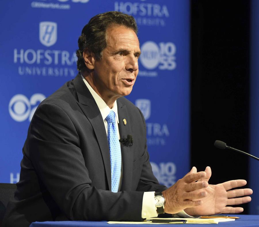 Andrew Cuomo busca la reelección en las elecciones estatales de Nueva York, previstas para el 6 de noviembre y que coinciden con las elecciones legislativas federales. (J. Conrad Williams Jr. / Newsday vía AP) (semisquare-x3)