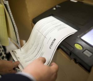 Conteo electoral regresivo