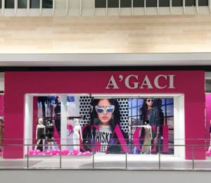 A'GACI anuncia el cierre de todas sus tiendas