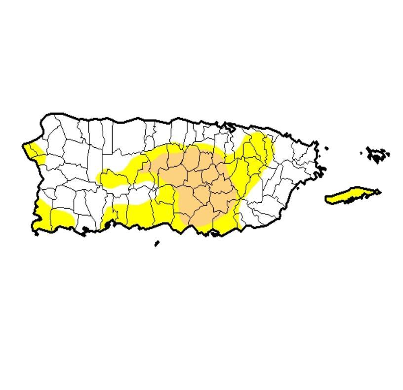 Las condiciones de sequía han provocado la puesta en vigor de un plan de racionamiento desde el 22 de febrero para municipios del noroeste que se suplen del embalse Guajataca. (semisquare-x3)