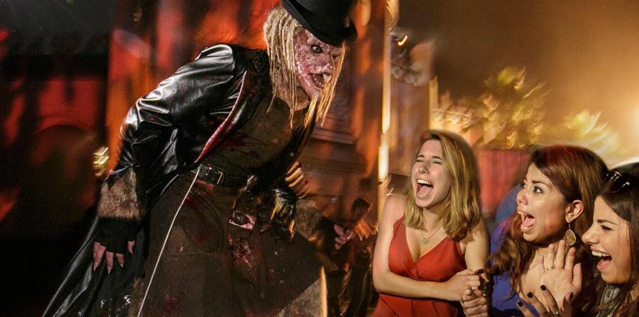 """Las Halloween Horror Nights de Universal son consideradas unas de las más grandes celebraciones de Halloween, con casas encantadas, espectáculos y """"zonas de miedo"""".  (Suministrada)"""