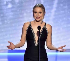 Kristen Bell inaugura los Premios SAG enfocados en las mujeres
